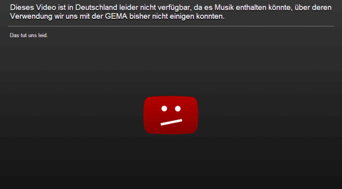 YouTube Gema Block
